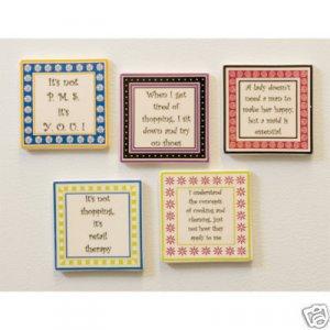 Mother's Day Funny Women's Humor Novelty Gift Magnet Lot of 5