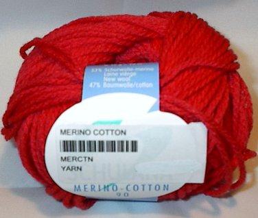 Schulana Merino Cotton 90 Yarn Scarlet Red 10
