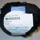 Schulana Merino Cotton 90 Yarn Black 17