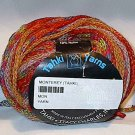 Tahki Monterey Bulky Wool Blend Yarn Orange Red #11