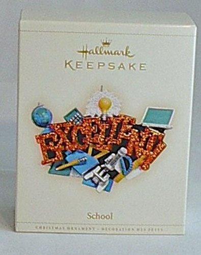 Collector's Hallmark Keepsake Ornament 2006 Excellent School You Rule MIB