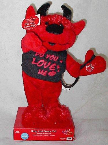 Valentine's Day 'Do You Love Me' Red & Black Devil Sing & Dance Pal
