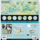 "Colorbok Belladonna 50 Sheet 12""x12"" Premium Scrapbook Craft Paper"