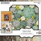 "Colorbok Bonjour Pattern Pack 50 Sheet 12""x12"" Scrapbook Craft Paper"