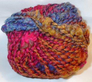 Plymouth Yarn Brunello Wool Blend Super Bulky Yarn Funky Brights 3074 Loom Knit Crochet