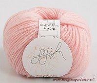 GGH Muench Wollywasch Superwash Wool Yarn 97 Pink Loom Knit Crochet