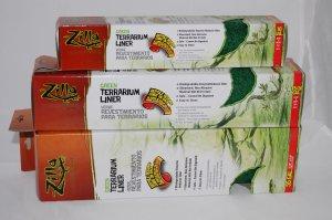 Terrarium Liner Green 55 Gallon