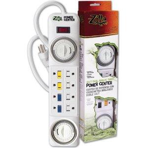 24/7 Dual Analog Timer Power Center