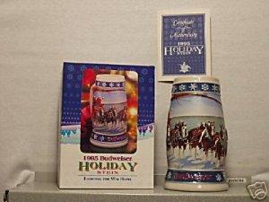 BUDWEISER CS263 1995 HOLIDAY LIGHTING WAY HOME #16 MUG