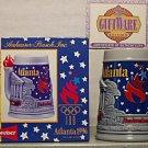 BUDWEISER CS249 1996 ATLANTA OLYMPIC GAMES STEIN MUG