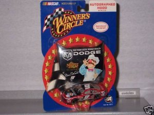 WINNERS CIRCLE BILL ELLIOTT MUPPET Repo Auto HOOD