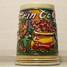 BUDWEISER CS166 1992 POT OF GOLD St PAT STEIN MUG