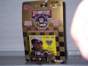 NASCAR 1998 #99 JEFF BURTON EXIDE 1/64 RC Toys R Us