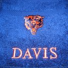 CHICAGO BEARS WRAP NAVY/ORANGE FREE GIFTBAG
