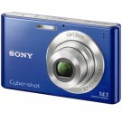 Sony Cyber-shot 14.1MP Digital Camera Blue  (DSC-W330)
