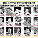 1959-60 EPHL KINGSTON FRONTENACS HEADSHOTS TEAM PHOTO