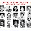 1959-60 VICTORIA COUGARS WHL HEADSHOTS TEAM PHOTO