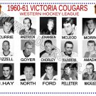 1960-61 VICTORIA COUGARS WHL HEADSHOTS TEAM PHOTO