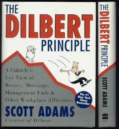Dilbert Principle HCw/DJ - Scott Adams, Workplace Humor