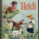 LGB#470  - Heidi , 'G' Printing, Little Golden Book  Illus. by Corinne Malvern