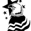 Patriotic Eagle Pattern