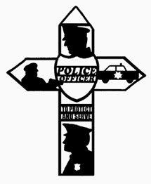 Police Officer Cross Pattern
