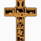 """Christmas - """"LITTLE TOWN OF BETHLEHEM"""" cross pattern"""