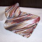 Variegated Brown Dish Cloth