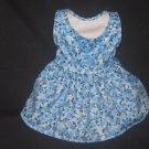 Blue/flowers dress