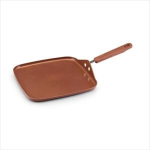 """Earth Pan 2, 11"""" Square Griddle"""
