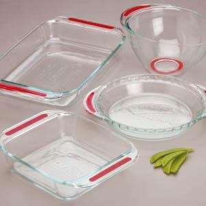 Pyrex Grip-Rite 4-Pc Set
