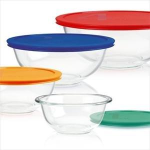 Pyrex Smart Essentials 8-Pc Bowl Set