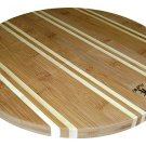 "14"" NEWPORT ROUND BAMBOO CUTTING BOARD"
