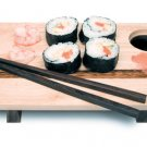 SUSHI SERVER & CHOPSTICKS