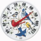 Accurite Designer Edition 12 1/2 in. In/Outdoor Songbirds Thermometer