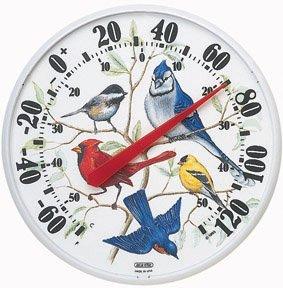 Accurite Designer Edition 12 1/2 in. In/Outdoor Songbirds Thermometer