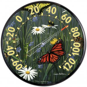 Butterflies Thermometer