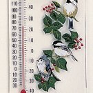 Titmouse/Chickadees Thermometer
