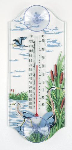 Great Blue Heron Thermometer