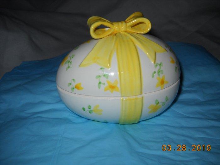 Lefton Porcelain Easter Egg
