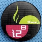 """25 Custom Made To Order Buttons Pins Badges 1.25"""" (32mm) Weaving Texture Surface"""