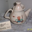 Red Wing Pottery Collector's Society 2006 Round Up Teapot,Tea Pot