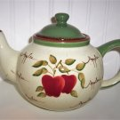 Home Interors pple Orchard Collection Teapot