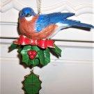 2005 Danburry Mint A Bluebird Visit Christmas Onament w/Box