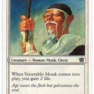 Magic The Gathering MTG Venerable Monk 9th Edition