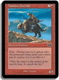 Magic The Gathering MTG Viashino Outrider Urza Saga