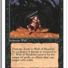 Magic The Gathering MTG Wall Of Shadows Chronicles
