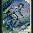 Magic MTG Promo Token Green/White Elf Warrior Shadowmoor