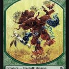 Magic MTG Promo Token Treefolk Shaman Morningtide