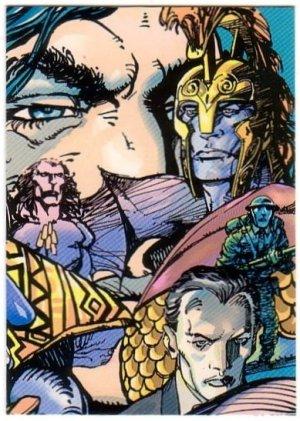Ultraverse II Origins Promo Card P2 (Barry Windsor Smith)